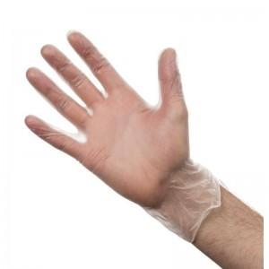 Rękawiczki winylowe M