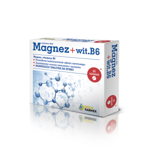 MAGNEZ + B6 (mleczan 100mg)...