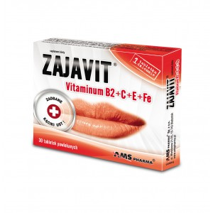 ZAJAVIT +B2+E+C+Fe 30tabl.